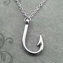 Подвеска цепочка для рыбалки в античном стиле ожерелье подарочное