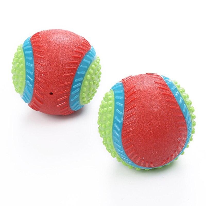 Rindfleisch Geschmack Für Hund Zu Release Stress Interaktive Gummi Ball Spielzeug Pet Quietschende Kauen Spielzeug Pet Liefert - 5