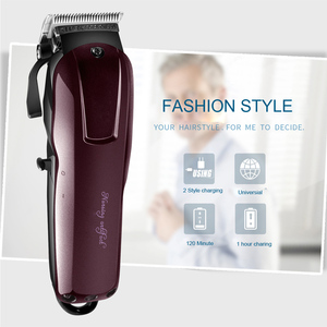 Image 4 - Electric Hair Trimmer Beard Powerful Cordless Professional hair Clipper Shaver Hair Cutting Machine 3/6/10/13mm Limit Comb