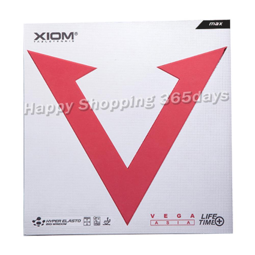 XIOM Original VEGA Asia Silver Pimples In Table Tennis Rubber Ping Pong Sponge Tenis De Mesa