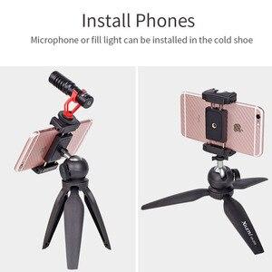 Image 3 - Mini statyw stojak na stół stojak na telefon kompaktowy statyw podróżny do aparatu iphone 5 6 7 8 Plus X XR XS Max 11 Pro Huawei SAMSUNG