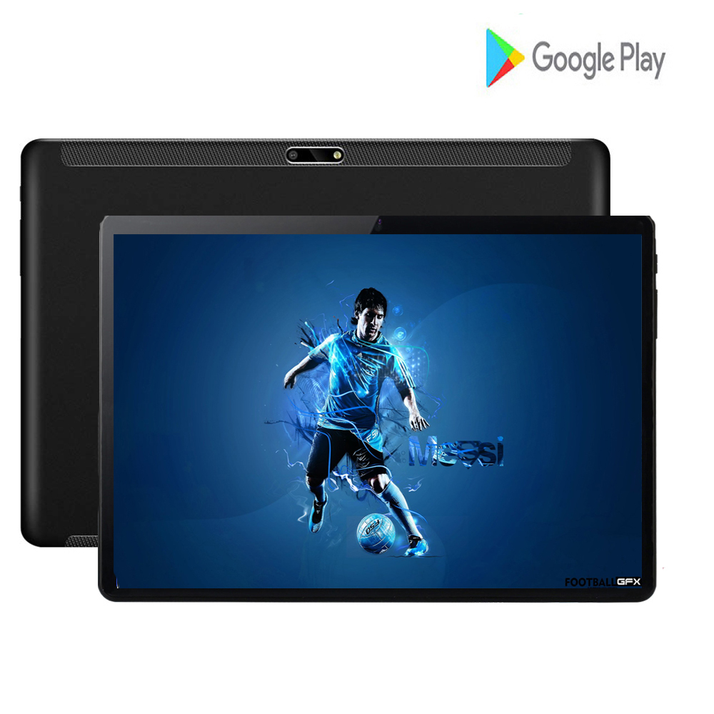2020 Global Version 10 Inch Tablet 3G Wifi Android 7.0 Quad Core 8.0MP IPS 2.5D Large Screen 32GB GPS WIFI Tablet 10