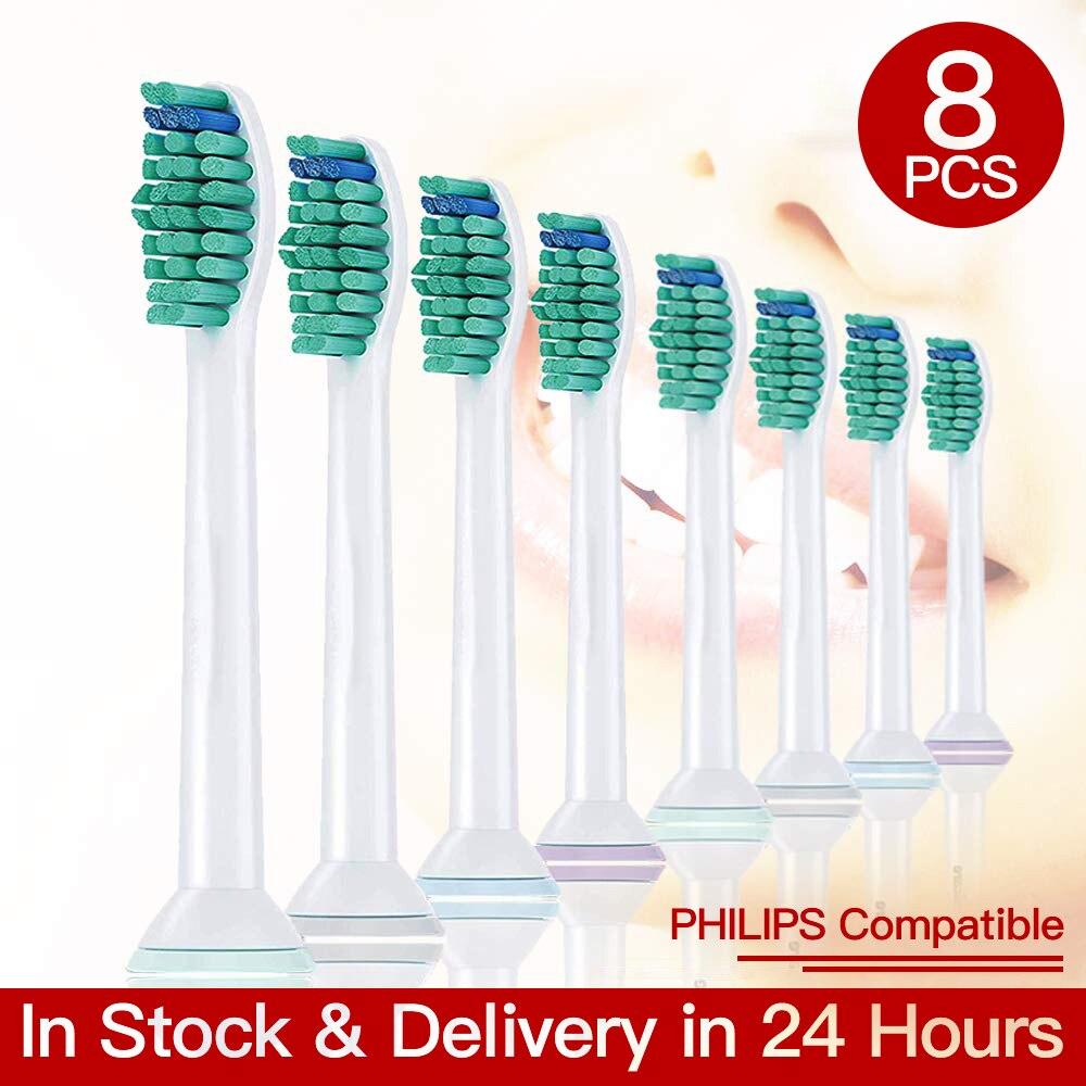 Têtes de brosse à dents de haute qualité, pour Philips Sonicare Flexcare Diamond Clean Healthy White HX3/6/9, lot de 4 ou 8 pièces