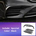 Для 2016-2019 Mercedes E W213 amg Mercedes benz E W213 E43 E63 передний противотуманный светильник аксессуары для отделки бровей