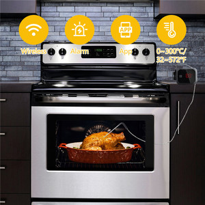 Image 5 - Inkbird Food Cooking Bluetooth Wireless BBQ Thermometer IBT 2X With Double Probes and Timer For Oven Meat Grill free app control