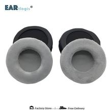Cuscinetti auricolari di ricambio per Sennheiser HD 215 HD215 HD 215 parti di cuffie cuscino in pelle velluto paraorecchie cuffia