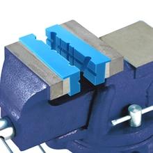 2Pcs Anti Slip Universale DELLUNITÀ di ELABORAZIONE di Strumenti Morsa Mascella Pad Reversibile Accessori Titolare di Perforazione Macchina Multi Scanalatura Morbido Magnetico Grips