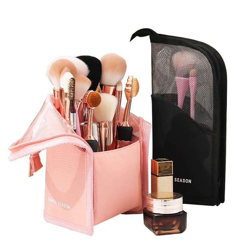 Cosmetic Bag Makeup Brush Holder Brush Makeup Holder Waterproof Travel Case For Brush Women Brush Organizer Makeup Tools Bag