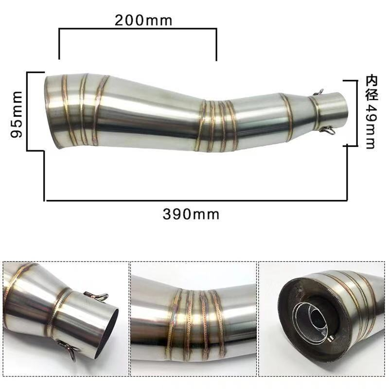 exhaust moto gp db killer muffler escape moto motorcycle exhaust pipe aluminium alloy accessories in Exhaust Exhaust Systems from Automobiles Motorcycles