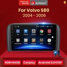 Junsun V1 4G+64G CarPlay Android 10 DSP For Volvo S80 1998   2006 Car Radio Multimedia Video Player Navigation GPS RDS 2 din dvd