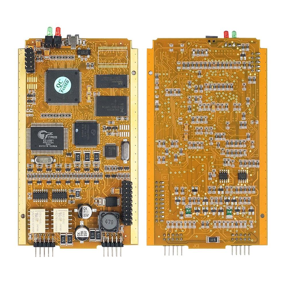 Para Renault Can Clip V190 Chip completo con CYPRESS AN2135SC/2136SC Chip oro PCB Board V178 Can Clip herramienta de diagnóstico del coche - 2