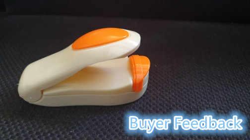 Draagbare Mini Warmte Sluitmachine Impuls Sealer Seal Verpakking Plastic Zak Impuls Sealer Seal Verpakking Plastic Tas Werk Met Vleermuis
