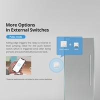 Itead Sonoff MINI R2 Two-WAY DIY Smart Wifi Switch Small Body Remote Control via eWeLink APP Support Alexa Google Home IFTTT