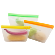 ECO Friendly Food Grade Reusable Stand Up Zip Bag Food Storage Bag Freezer Bag Ziplock Fresh Bag Freshness Protection Package