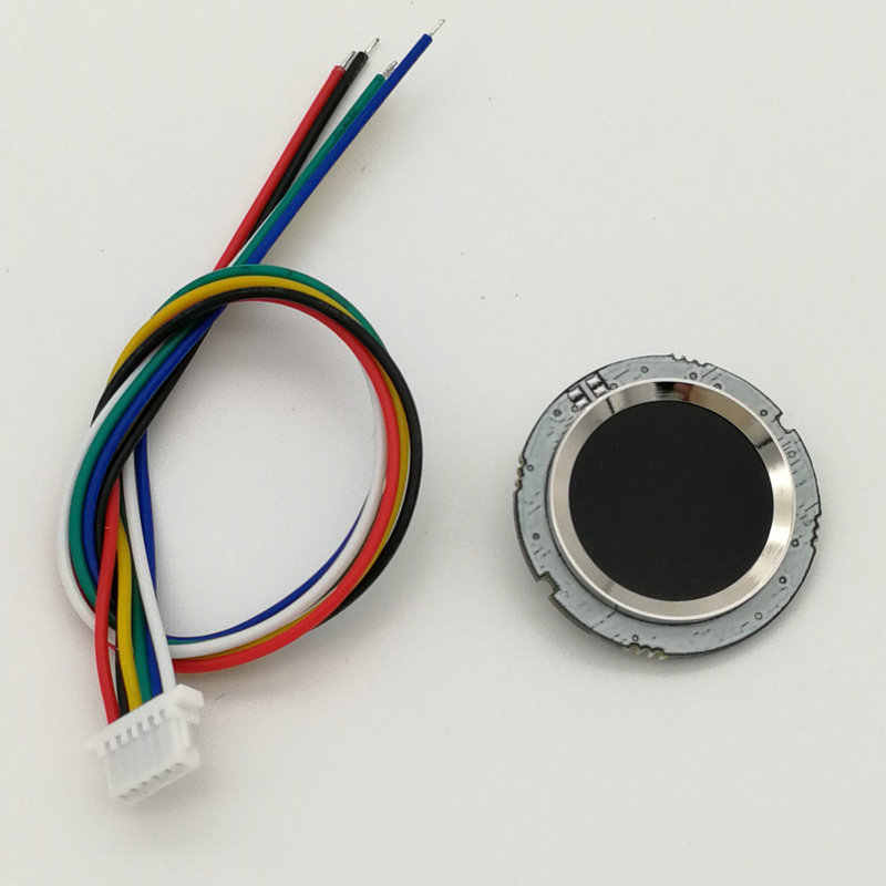 R502 rouge Bule LED rond semi-conducteur Module d'empreintes digitales/capteur/Scanner