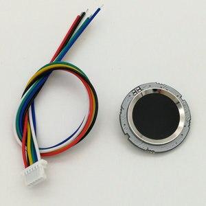 Image 1 - R502 Rosso Bule LED Rotonda A Semiconduttore Modulo di Impronte Digitali/Sensore/Sensore di Scanner