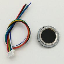 R502 Rot Bule LED Runde Semiconductor Fingerprint Modul/Sensor/Scanner