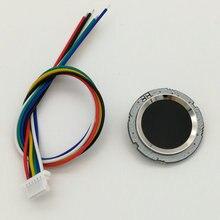 R502 kırmızı mavi LED yuvarlak yarı iletken parmak İzi modülü/sensör/tarayıcı