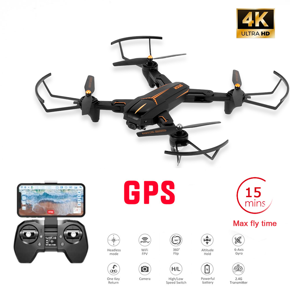 XS812 GPS 5G Drone GPS 4K WiFi Live Video FPV Quadrotor Flight 15 Minutes Distance 200M Drone HD 120     Wide-Angle Dual Camera