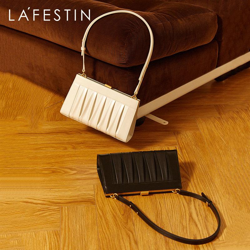 LA FESTIN Designer shoulder 2020 bag retro underarm bag simple leather handbag messenger cellar fashion handbag
