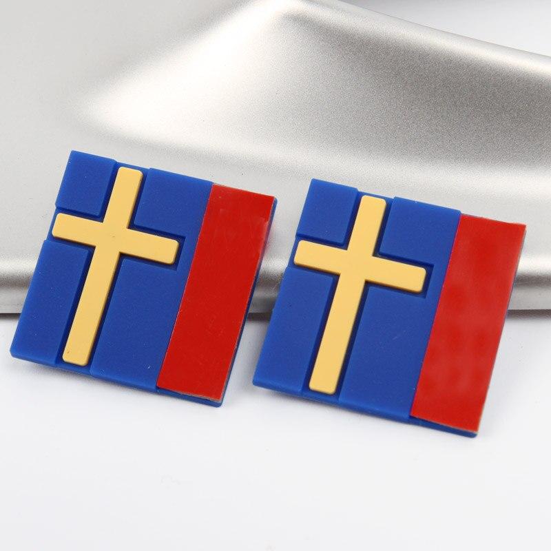 2-10 Pcs Car 3D Sticker Sweden Flag Decoration Emblem Car Door Trunk front grille For  VOLVO XC40 XC60 XC90 V90 S90 S60 V60 V40