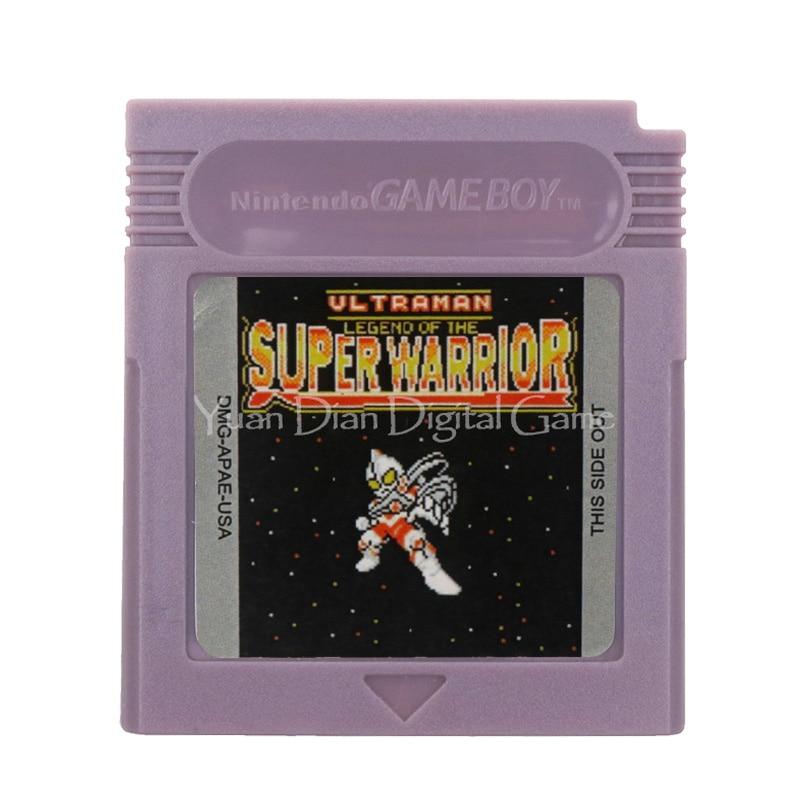 For Nintendo GBC Video Game Cartridge Console Card Ultraman Legend of the Super Warrior English Language Version 1