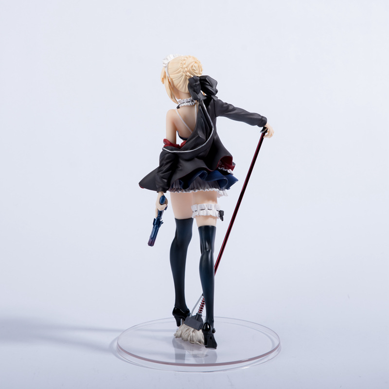Hfa99b9d2624544cc84d4e5cd6fa55d35i Action Figure Fate/stay night saber altere lingerie ver. Figura de ação pvc brinquedos sabre alter lingerie anime sexy menina figura modelo boneca brinquedo 24cm