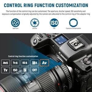 Image 2 - Viltrox EF R2 Lấy Nét Tự Động Chuyển Đổi Ống Kính Với Điều Khiển Chức Năng Nhẫn Cho Ống Kính Canon EF/EF S Ống Kính Canon EOS R gắn Camera RP R5 R6