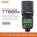 GODOX TT685N i-TTL 2 4G Беспроводная радиосистема  Master Slave Flash-светильник Speedlite для Nikon D7100 D7000 D5200 D5100 D5000 D3200