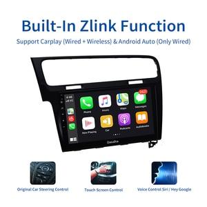 "Image 3 - Dasaita Autoradio 1 Din Car Android 10.0 for VW Golf 7 2013 2014 2015 2016 2017 Navigation GPS 10.2"" IPS Touch Screen HDMI"