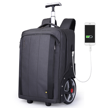Plecak szkolny na kółkach podróż walizka na kółkach wózek cabina carry on rolling bagaż walizka na kółkach walizka podróżna na kółkach tanie i dobre opinie IGETBAG NYLON CN (pochodzenie) 3 82 Spinner SLN98020 Unisex