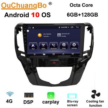 Ouchuangbo RHD android 10.0 gps radio recorder for GWM Great Wall M4 2012-2016 haval hover H1 2017 stereo 6GB+128GB LHD недорого