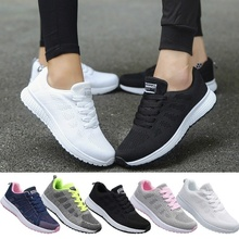 Sneakers Sport-Shoes Comfortable Running Fashion Women Mesh Light Lovers