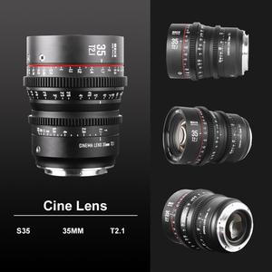 Image 3 - Meike Prime 35mm T2.1  Super 35 Frame Cinema Camera Systems for Canon Cameras with EF Mount