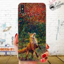 Coque Shell For Xiaomi Redmi Note 2 3 3S 4 4A 4X 5 5A 6 6A Pro Plus Fox Cunning(China)