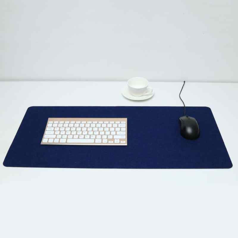 Besar Meja Kantor Tikar Meja Modern Keyboard Komputer Mouse Pad Wol Merasa Laptop Bantal Meja Tikar Gamer Mousepad Mat 700*330 Mm
