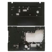 Dla Lenovo G700 G710 Laptop górna obudowa do opierania dłoni klawiatury osłona na ramkę 13N0 B5A0411/dolna podstawa laptopa pokrywa 13N0 B5A0701