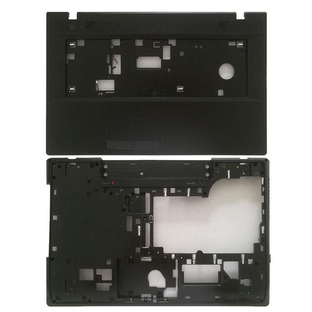 עבור Lenovo G700 G710 Palmrest מחשב נייד עליון מקרה Keybord לוח כיסוי 13N0 B5A0411/מחשב נייד תחתון בסיס מקרה כיסוי 13N0 B5A0701