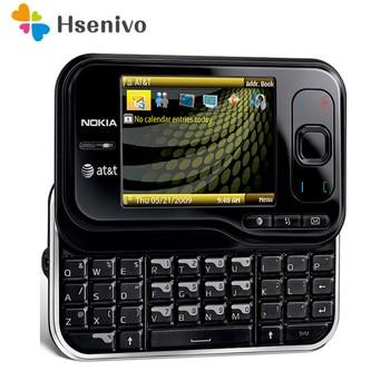 Купить Разблокированный Мобильный телефон Nokia 6790, 2,4-дюймовый, 3G, Bluetooth, FM-радио, с поддержкой Bluetooth, 6790