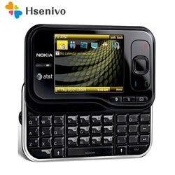Разблокированный Мобильный телефон Nokia 6790, 2,4-дюймовый, 3G, Bluetooth, FM-радио, с поддержкой Bluetooth, 6790
