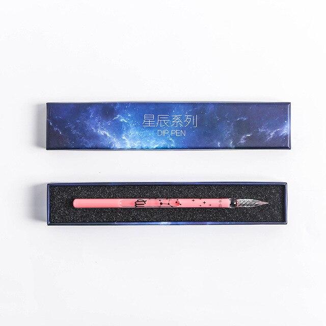 Zodiac Glass Dip Pen 6