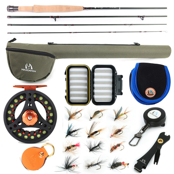 цена на Maximumcatch Small Stream Creek Fly Fishing Rod Aluminum Reel Line Kit 6ft-7.6ft 1/2/3wt