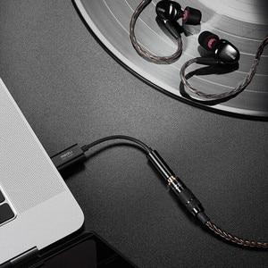 Image 5 - MEIZU HiFi الصوت DAC فك مكبر للصوت/أمبير برو 3.5 مللي متر Type C USB محول الصوت كابل CS43131 رقاقة 600ou PCM 32bit/384k DSD