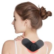 Neck Massager EMS Intelligent Electric Muscle Stimulator Back Cervical Massage Back Pain Relief Health Care Neck Back Massager