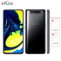 New Original Samsung Galaxy A80 A8050 Dual SIM Mobile Phone 6.7 8GB RAM 128GB ROM Snapdragon 730 Android 3700mAh NFC 4G Phone