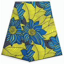 цена 2019 real dutch wax African Ankara Wax Prints Fabric African veritable wax 100% cotton в интернет-магазинах