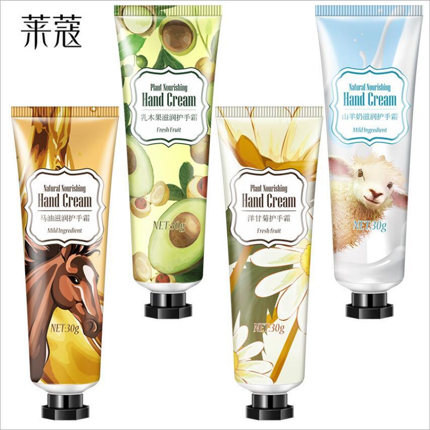 Hot Horse Oil Goat Oil Shea Butter Hand Cream Repair Anti-Aging Winter Anti-crack Whitening Hand Lotion Nourishing Care Cream