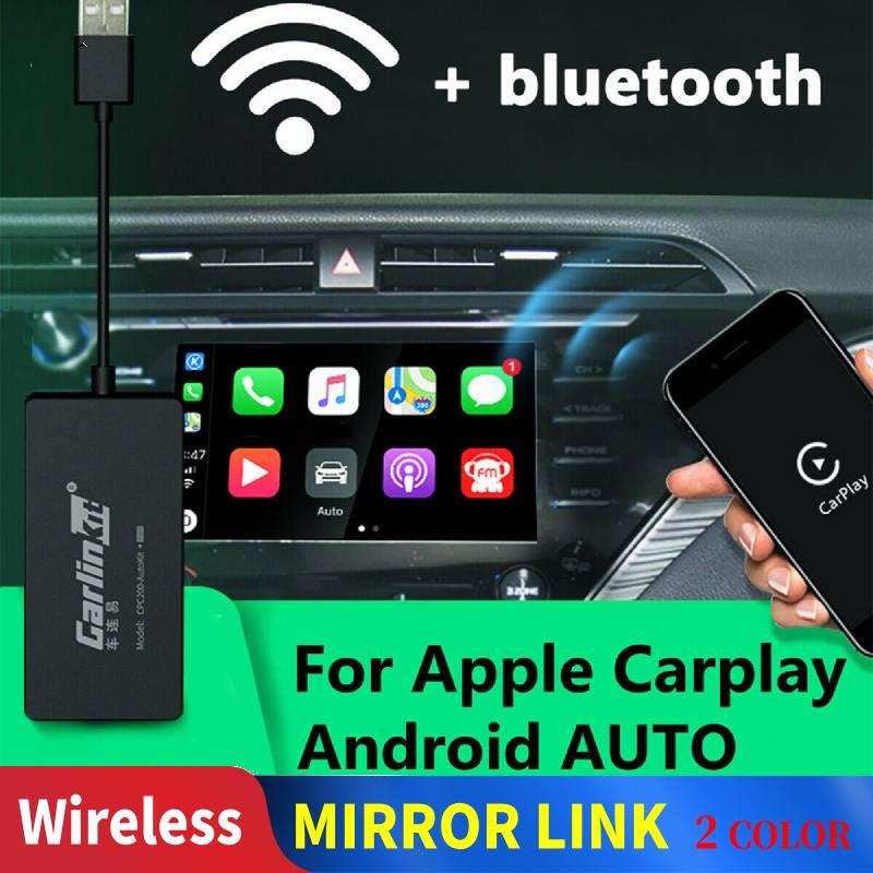 Carplay Carlinkit A3 Adaptador Sem Fio para A Apple Carplay Android Auto Jogo Carro Iphone USB Dongle WIFI GPS DO CARRO MIMI Espelho link