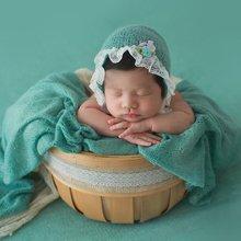 Детский реквизит для фотосъемки новорожденных трикотажная эластичная