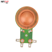 HIFIDIY LIVE Professional speaker horn high head voice coil hard film 25.5 Core Tweeter Voice Coil Repair accessories DIY Parts(China)